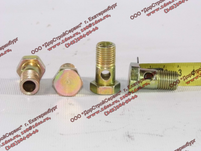 Болт пустотелый М14х1,5 (штуцер топливный) H HOWO (ХОВО) 90003962612 фото 1 Нальчик