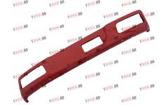 Бампер F красный металлический (до 2007г) для самосвалов фото Нальчик