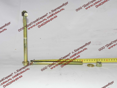Болт центральный рессоры передней H2/H3 HOWO (ХОВО) 99100520710 фото 1 Нальчик