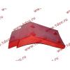 Брызговик передней оси правый H2 красный HOWO (ХОВО) WG1642230004 фото 3 Нальчик