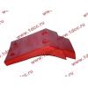 Брызговик передней оси правый H2 красный HOWO (ХОВО) WG1642230004 фото 4 Нальчик